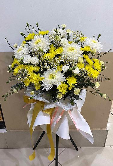 Condolence Wreath C2509