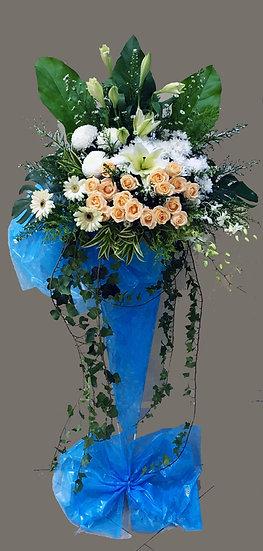 Condolence Wreath C3006