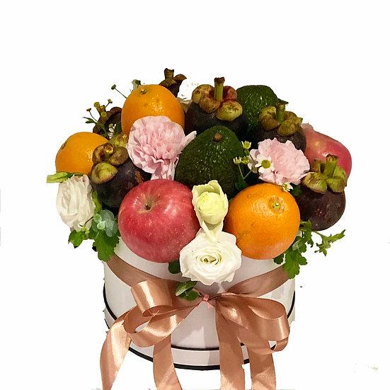 Fruit N Floral Basket 2201
