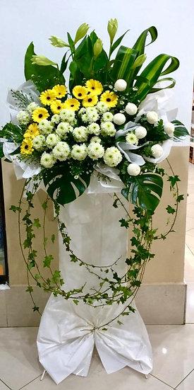 Condolence Wreath C3504