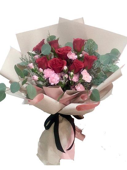 Decoris - 8 roses