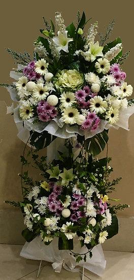 Condolence Wreath C7502