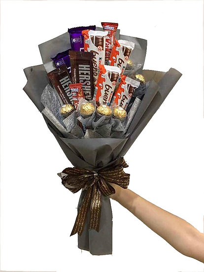 Chocolate Bouquet - Dark and Stormy