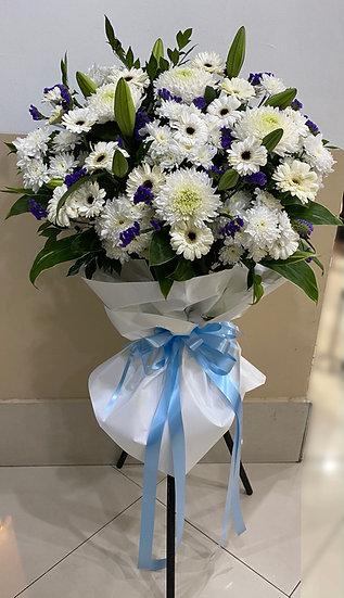 Condolence Wreath C3001