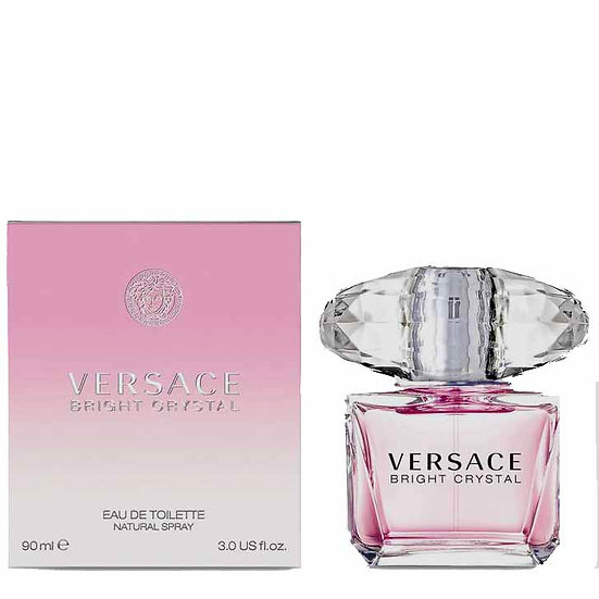 Versace Bright Crystal EDT  Lady 90 ML For Her