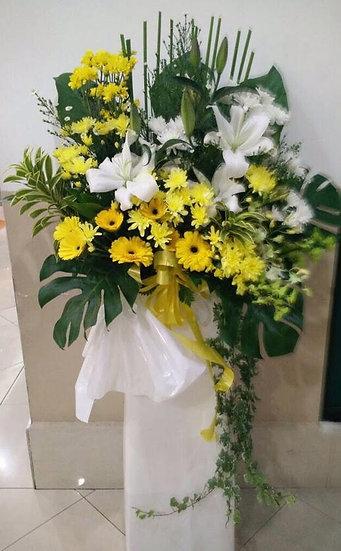 Condolence Wreath C2806