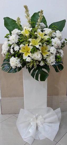 Condolence Wreath C2508