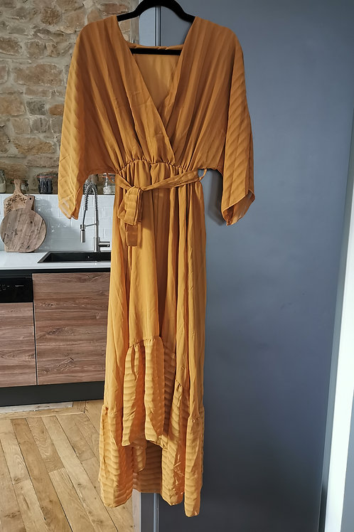 "Robe ""Nova"" moutarde"