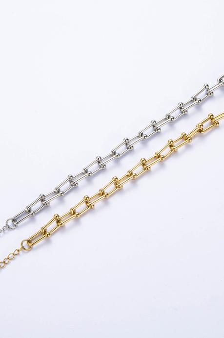 """Bracelet """"Nina"""" doré"""