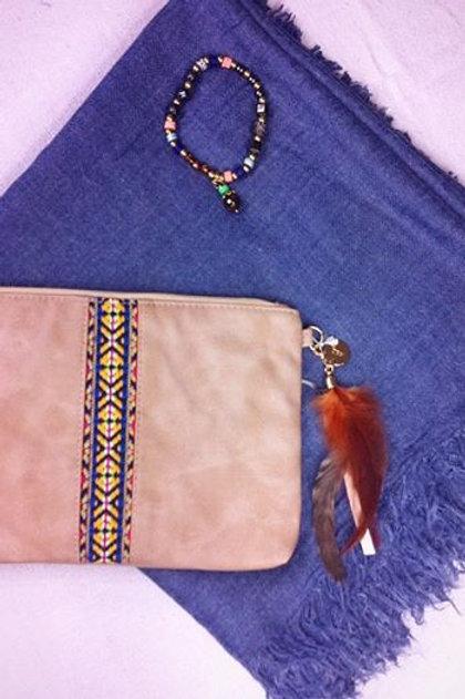 """Pack cadeau """"Bleu Ethnique"""