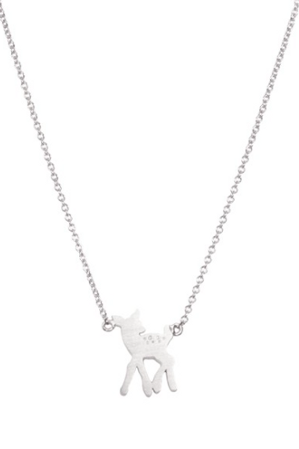 Collier bambi argent