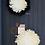 Thumbnail: Grand juju hat noir et beige : 60cm