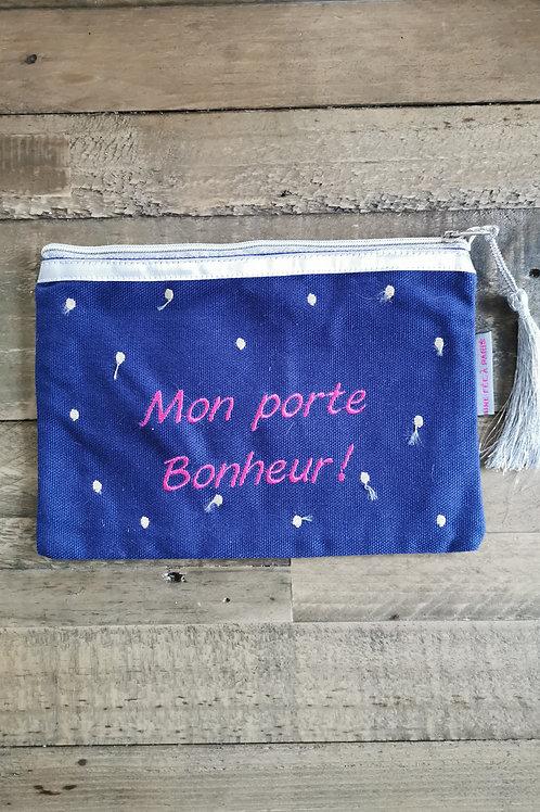 """Pochette """"Mon porte bonheur"""""""
