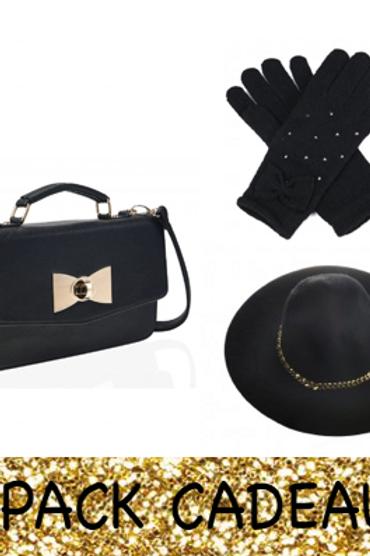 Pack cadeau noir et doré