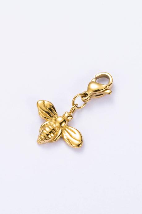 Charm abeille doré