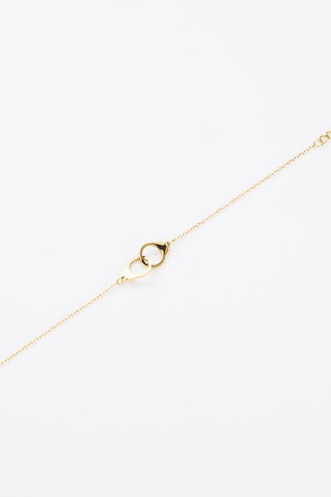 Bracelet fin menotte dorée