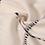 Thumbnail: Echarpe à carreaux beige
