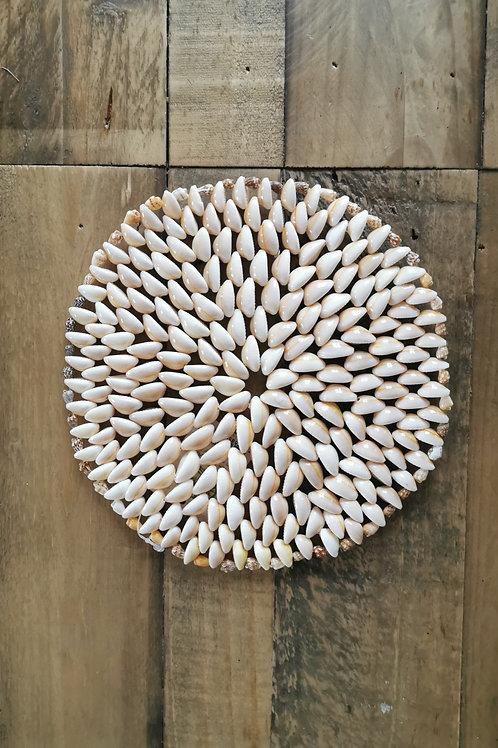 Dessous de plat coquillage rond