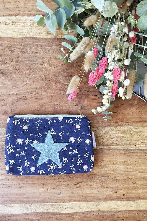 "Pochette ""Liberty"" étoile bleue"