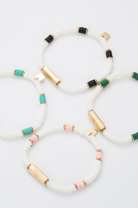 "Bracelet ""Amour"" vert"