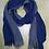 Thumbnail: Foulard bicolore bleu/gris