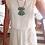 Thumbnail: Robe blanche à franges