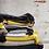 Thumbnail: Serviette pompons jaune