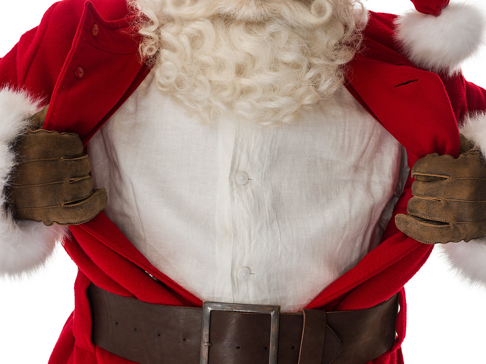 Santa Claus Portrait in a classic superm