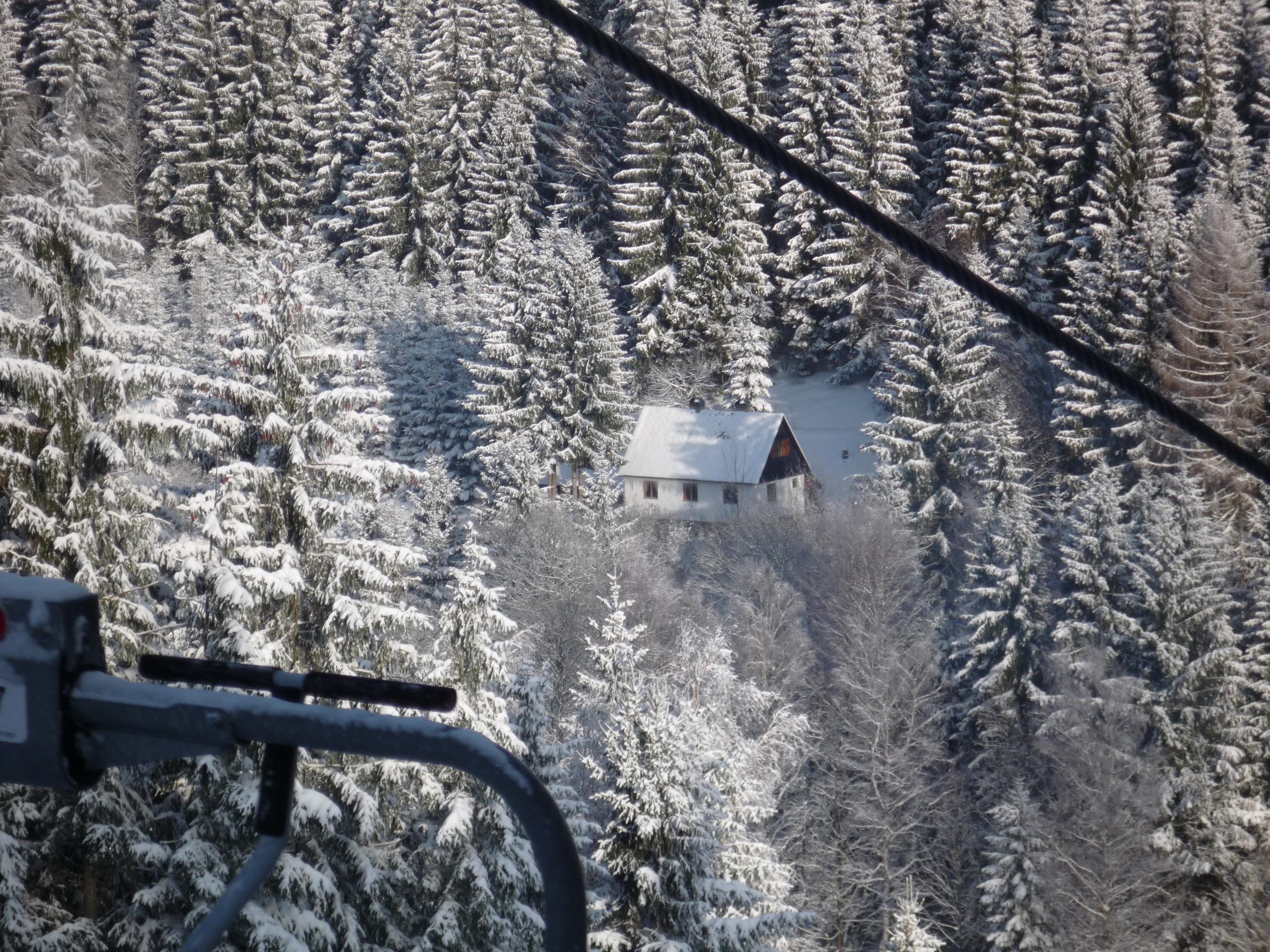 chata z lanovky