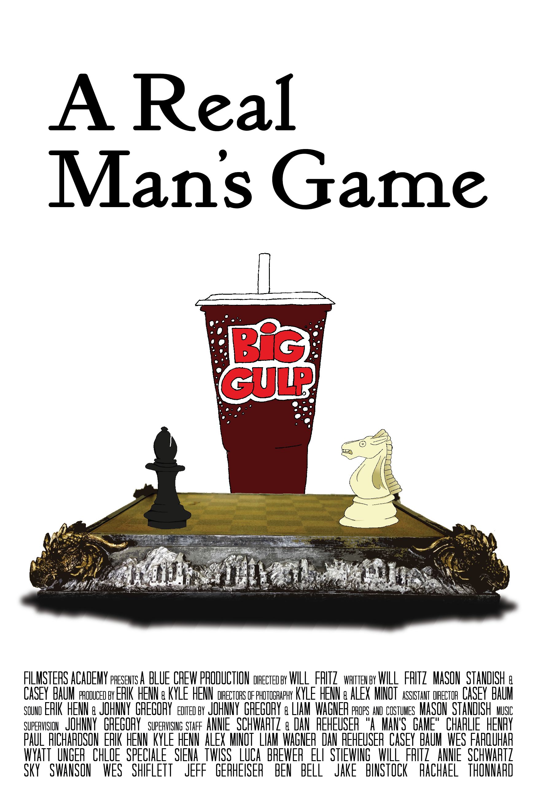 Chess: A Real Man's Game