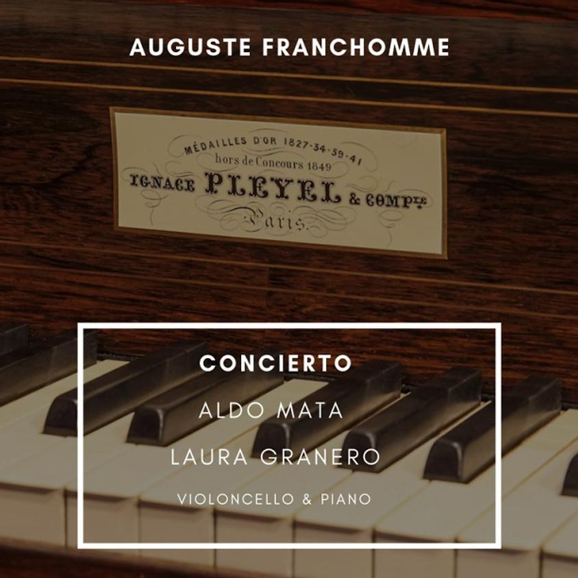CONCIERTO  DE VIOLONCELLO &  PIANO