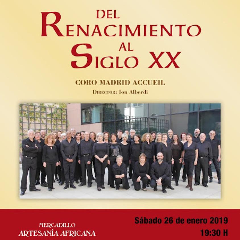 CONCIERTO DEL RENACIMIENTO AL SIGLO XX