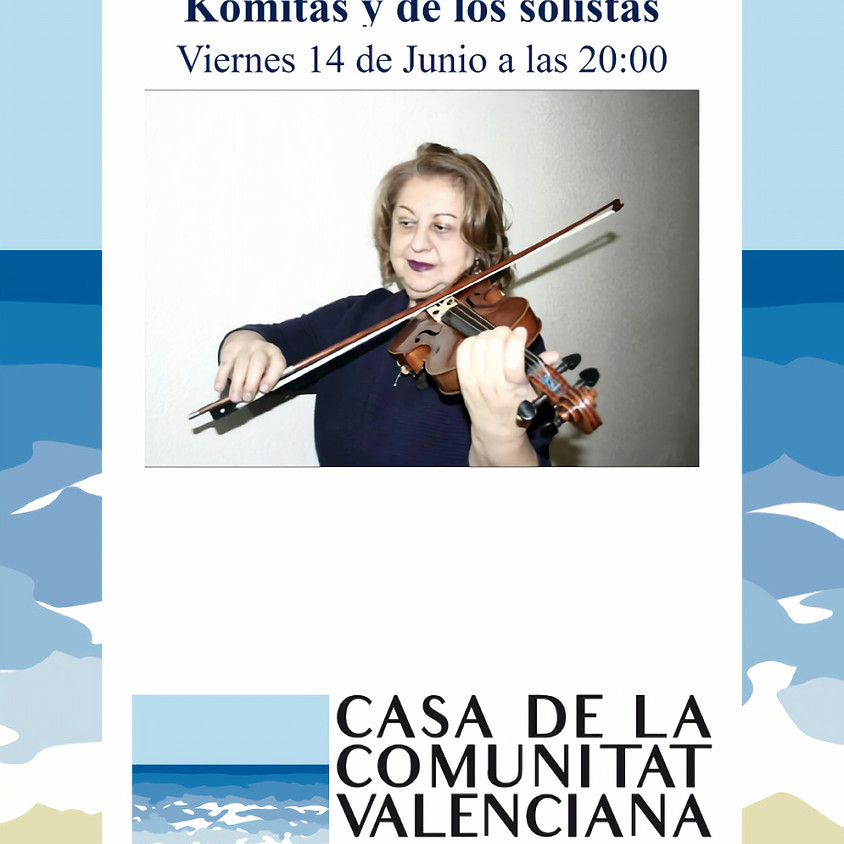 Concierto del Ensemble Komitas y de los solistas