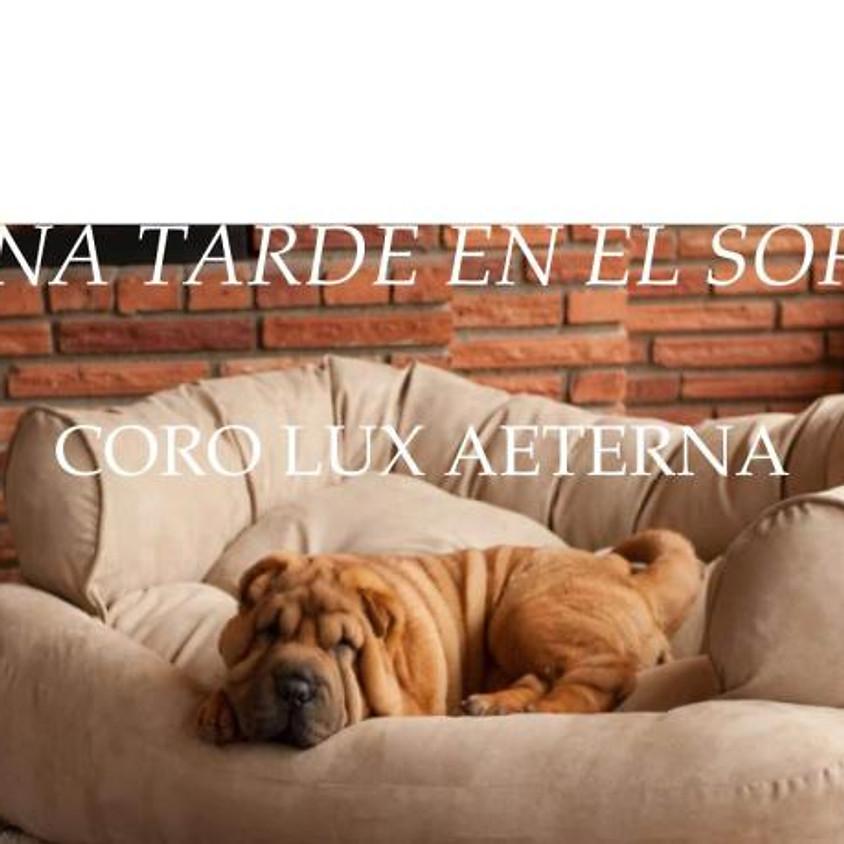 Una tarde en el sofá