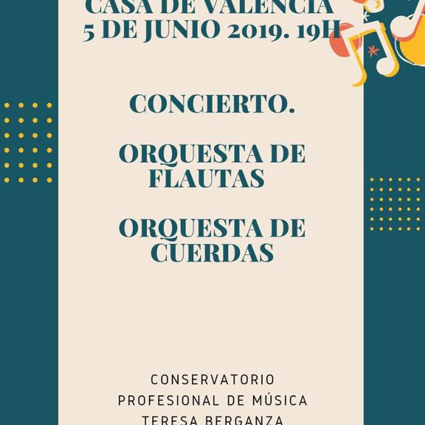Orquestas del conservatorio Teresa Berganza