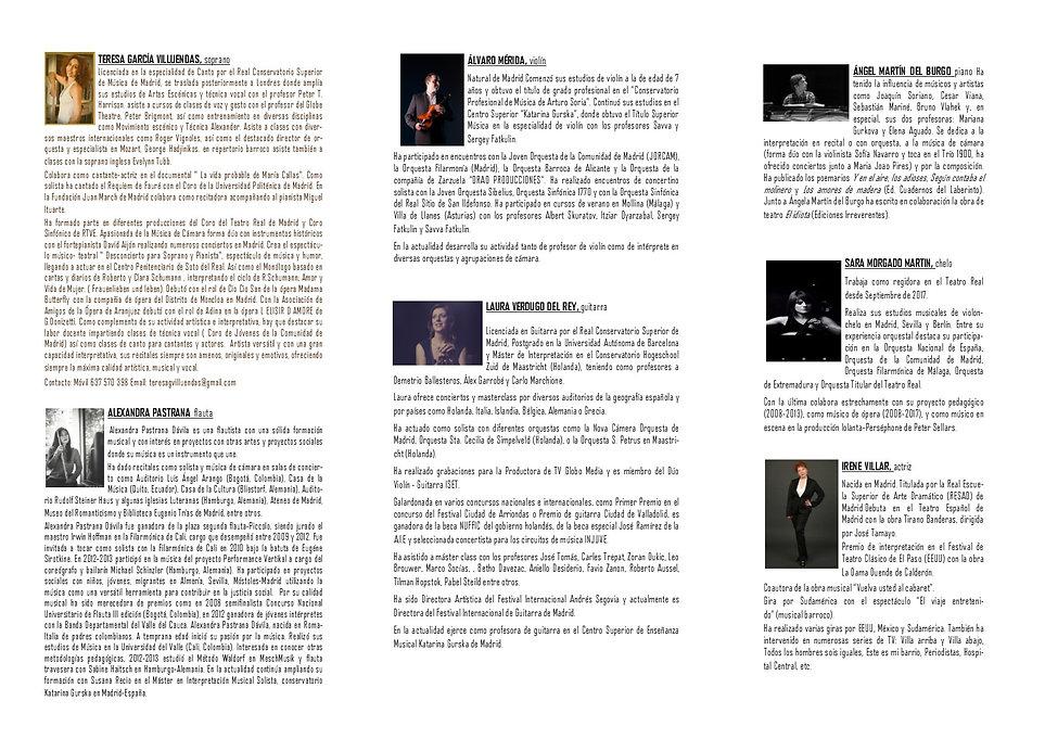 2. Programa Concierto 23 de Noviembre de