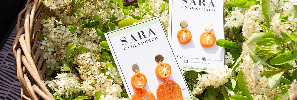 cara cara earrings