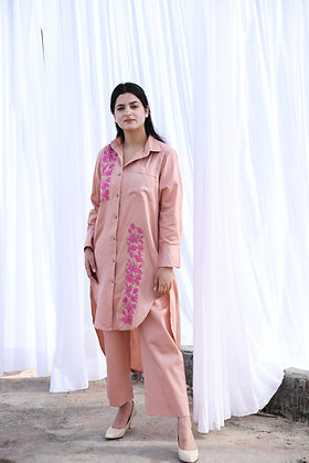 Dull Pink Co-ord Set