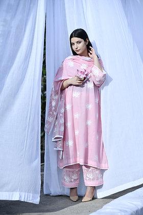 Pink Lotus Phiran Suit