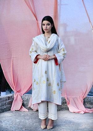 Off White Kora Tilla Phiran Suit