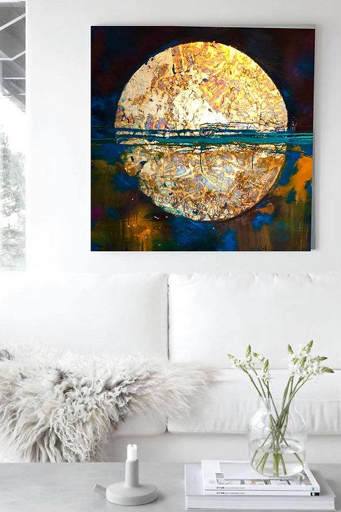 Super Moon A1 Print
