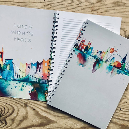 Notebook Bristol Skyline