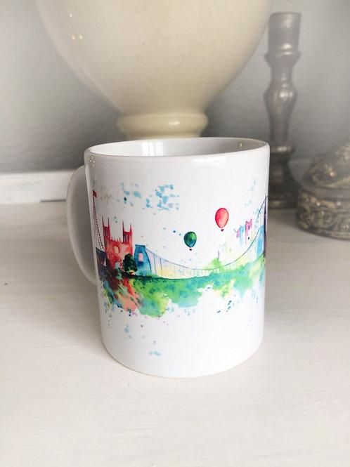 Bristol Skyline China Mug