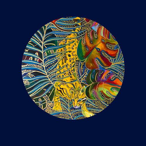 Ocelot  Jungle Print