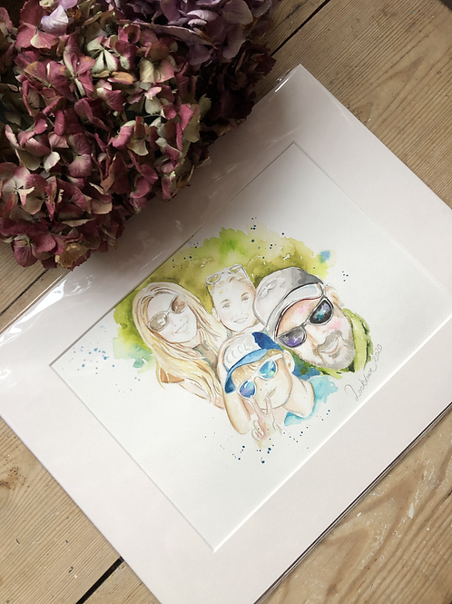 Family Watercolours