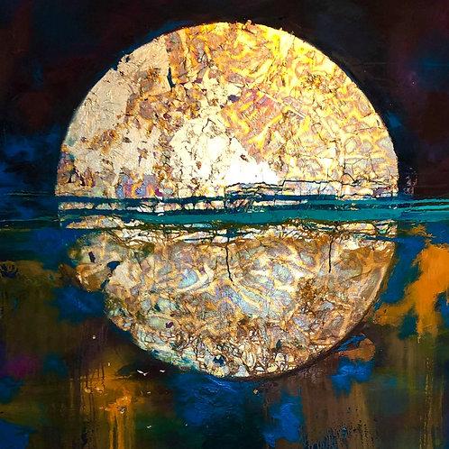 Super Moon Print A4