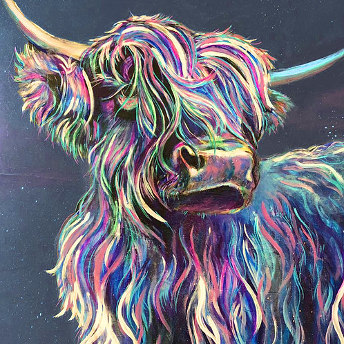 Highland Cow A3 Quality Print