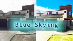 blueskying