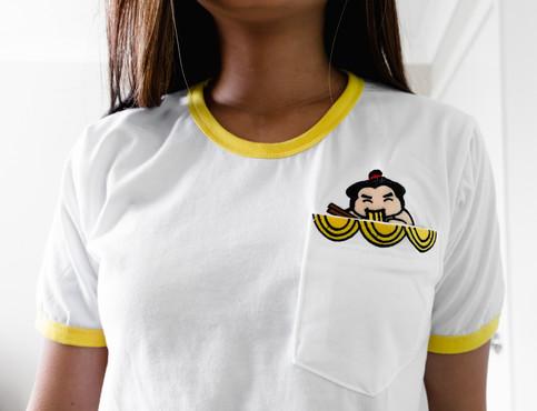 Sumo Ramen Pocket T-Shirt