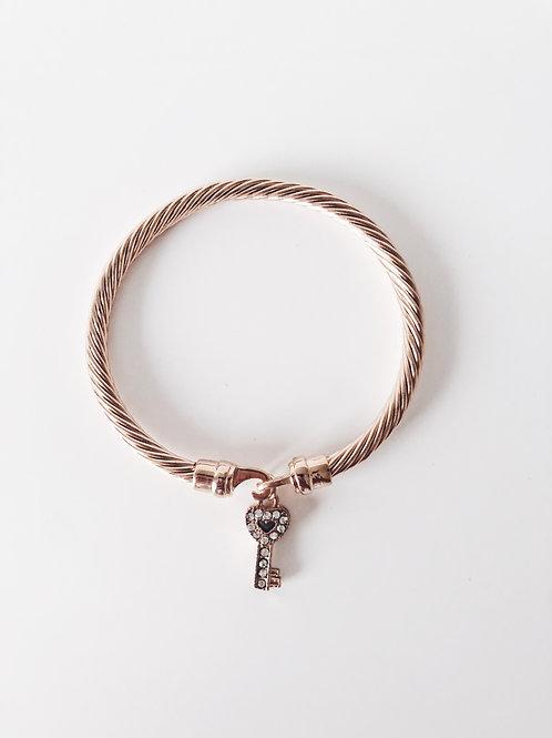 Key Rose Gold Bracelet